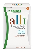 alli 120 Count Capsules over-the-counter weight loss