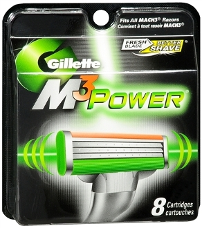 Gillette M3 Power Cartridges