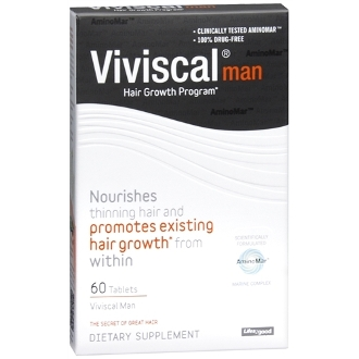 Viviscal Man Hair Growth Program, 60 Capsules for men