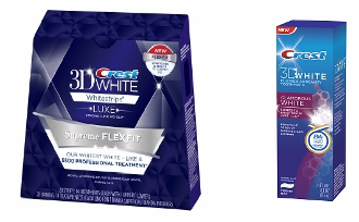 One Crest 3D White Luxe FlexFit + One Luxe Glamorous Toothpaste