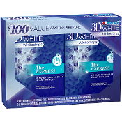 Crest 3D White Whitestrips 1 Hour Express Double Pack $70
