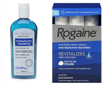 Men's Rogaine 5% Foam 6-Months and one Dr. Varon's Shampoo